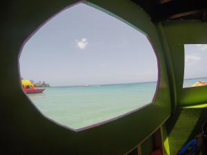 View from inside the boat