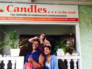 tobago candles in the wind