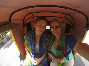 Tuk Tuk ... Only way to get around India!