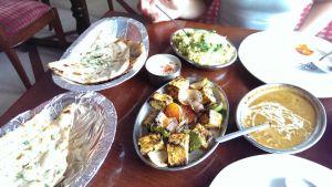 Last meal in Delhi