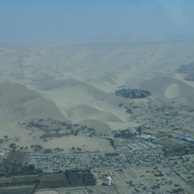 Huacachina from above